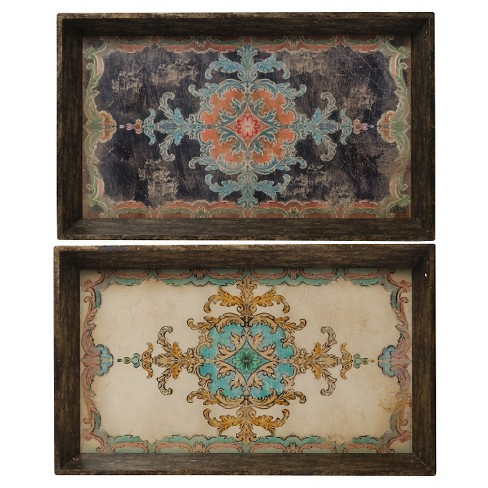 "Decorative Trays (25""x15"") - Set of 2 - A&B Home - image 1 of 2"
