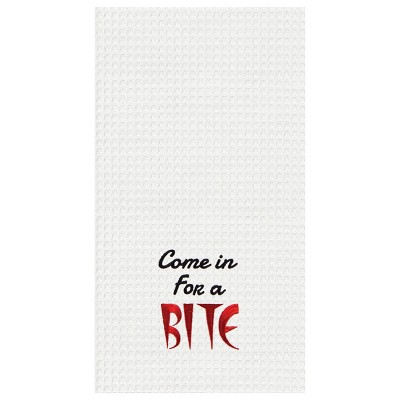 """C&F Home """"Come In For A Bite"""" Halloween Kitchen Towel"""