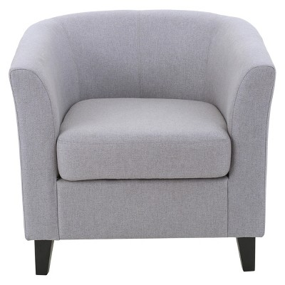 Preston Club Chair - Light Gray - Christopher Knight Home