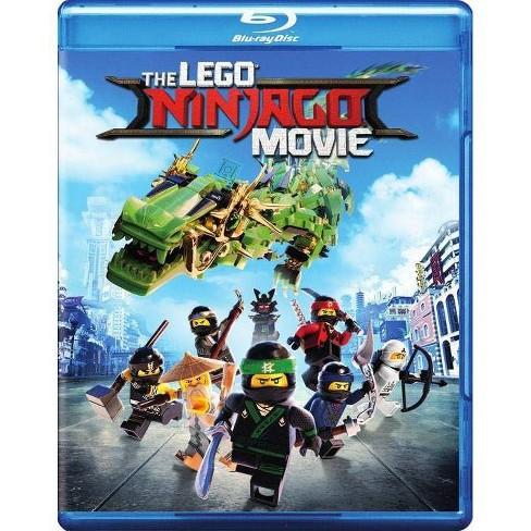Lego Ninjago Movie Blu Ray Target