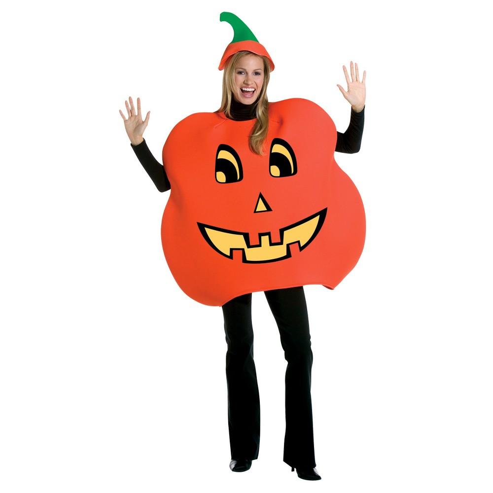 Adult Pumpkin Costume, Adult Unisex, Multi-Colored