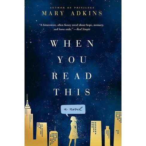 When You Read This - by  Mary Adkins (Paperback) - image 1 of 1
