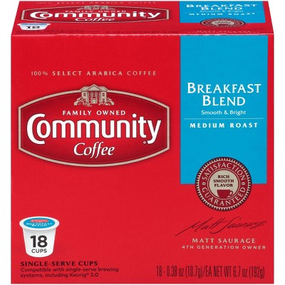 Coffee Pods: Community Coffee K-Cup Pods