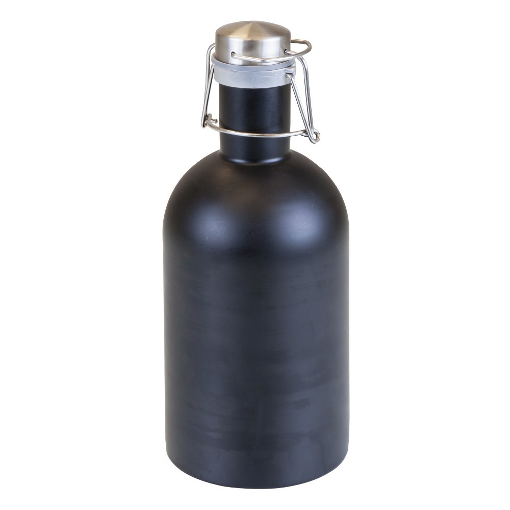 Image of Picnic Time Stainless Steel Growler 64oz - Matte Black