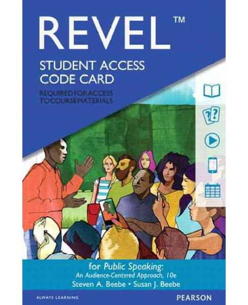 Public Speaking Revel Access Code : An Audience-Centered Approach -  (Hardcover) - image 1 of 1