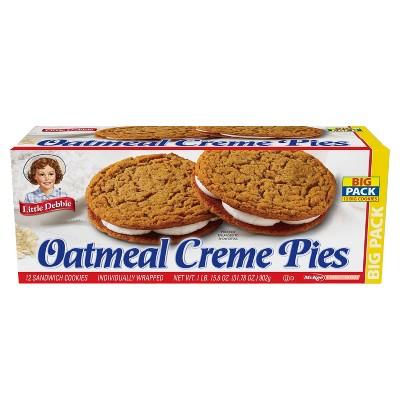 Little Debbie Oatmeal Crème Pies - 31.78oz/12pk