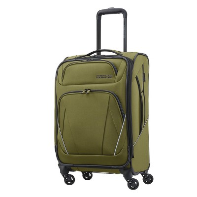 """American Tourister 20"""" Superset Spinner Suitcase - Olive"""
