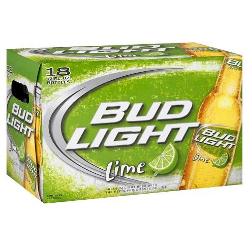 Bud Light Lime Beer - 18pk/12 fl oz Bottles - image 1 of 1
