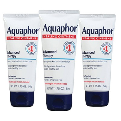 Aquaphor Healing Ointment Advanced Therapy for Dry and Cracked Skin - 1.75oz