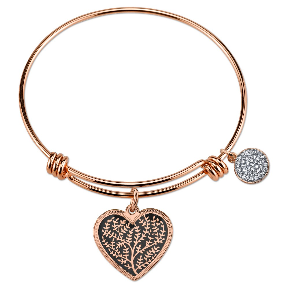 Target Women's Stainless Steel Expandable Bracelet - Fami...