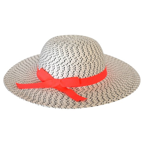 Toddler Girls' Sun Hat with Bow Cat & Jack™ - White - image 1 of 1
