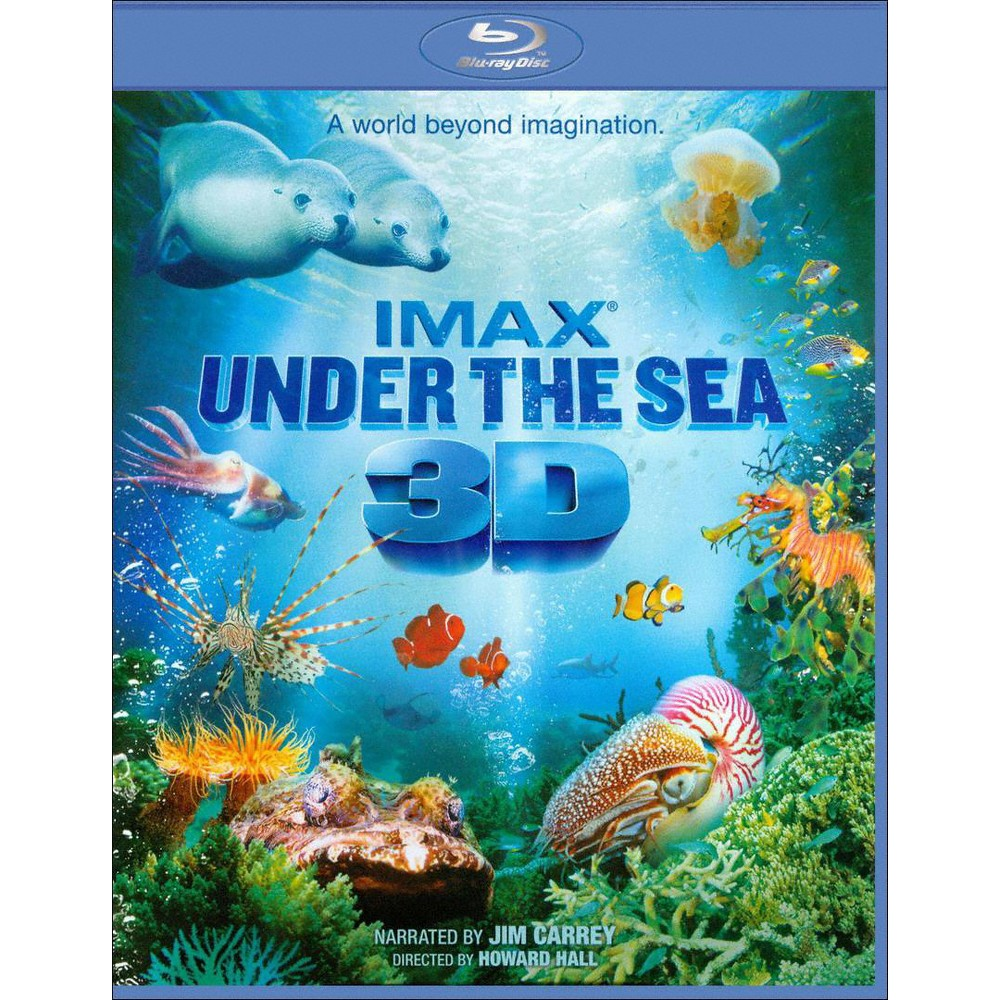 Under The Sea 3d (Imax) (Blu-ray)