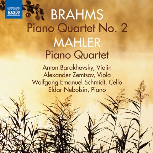 Various - Brahms/Mahler:Piano Qt No 2/Piano Qt (CD) - image 1 of 1