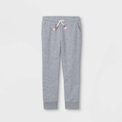 Toddler Girls' French Terry Jogger Pants - Cat & Jack™ Gray 4T