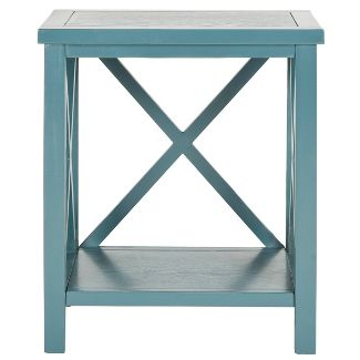 Catania End Table - Teal - Safavieh®