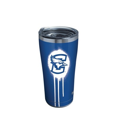 NCAA Creighton Bluejays 20oz Graffiti Stainless Steel Tumbler