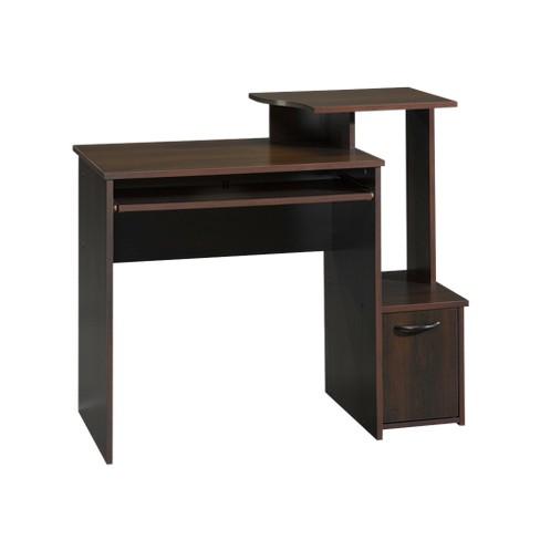 Sauder Computer Desk - Cinnamon Cherry - image 1 of 2