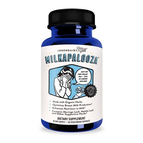 Legendairy Milk Milkapalooza Lactation Supplement  - 60ct - image 1 of 3
