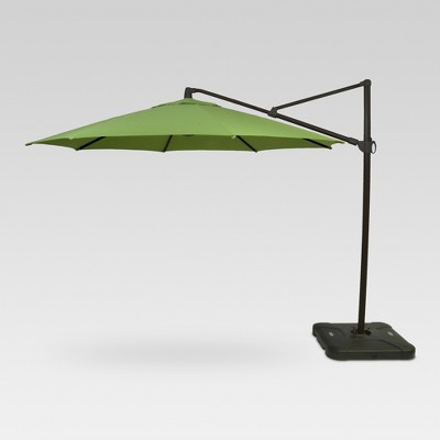 11u0027 Offset Umbrella   Green   Black Pole   Threshold™