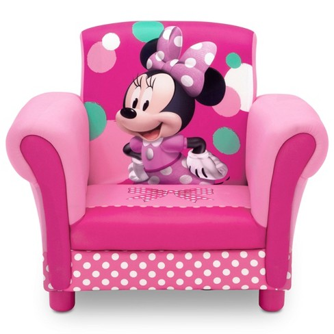 Minnie Mouse Upholstered Kids Armchair - Disney - image 1 of 4