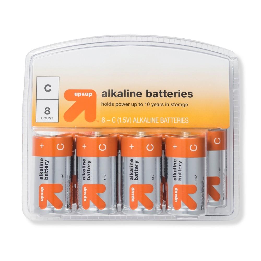 C Batteries - 8ct - Up&Up