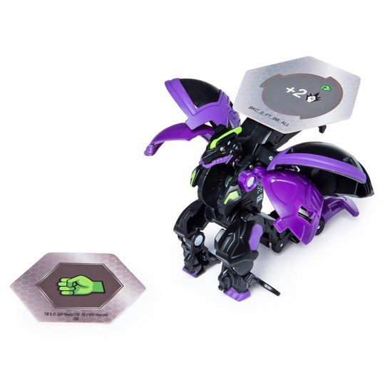 """""""Bakugan Ultra Darkus Hyper Dragonoid 3"""""""" Collectible Action Figure and Trading Card"""" image number null"""