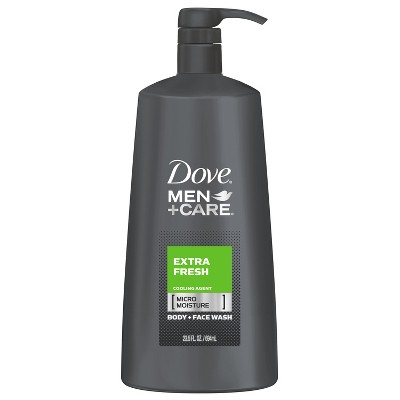 Dove Men+Care Extra Fresh Micro Moisture Cooling Body Wash - 23.5 fl oz