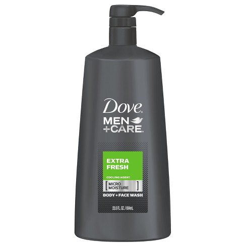 Dove Men+Care Extra Fresh Body Wash with Pump - 23.5oz - image 1 of 6
