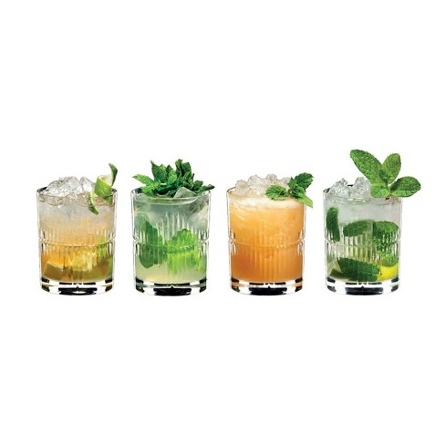 Riedel Tumbler Collection Mixing Series Rum Cocktail Set Set Of 4 Glasses Target