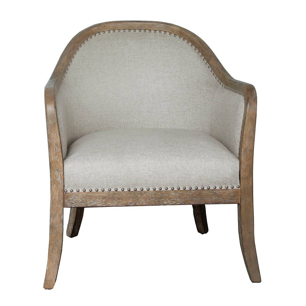Two Tone Frame Accent Chair Wood - Pulaski
