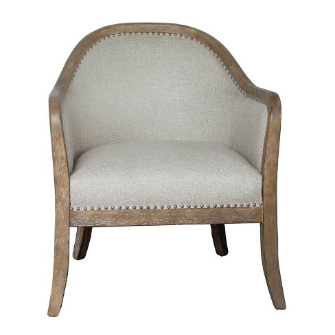 Two Tone Frame Accent Chair Wood - Pulaski - image 1 of 5