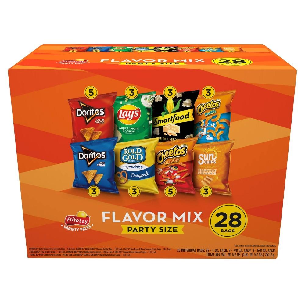 Frito Lay Fun Times Mix Variety Pack 28ct