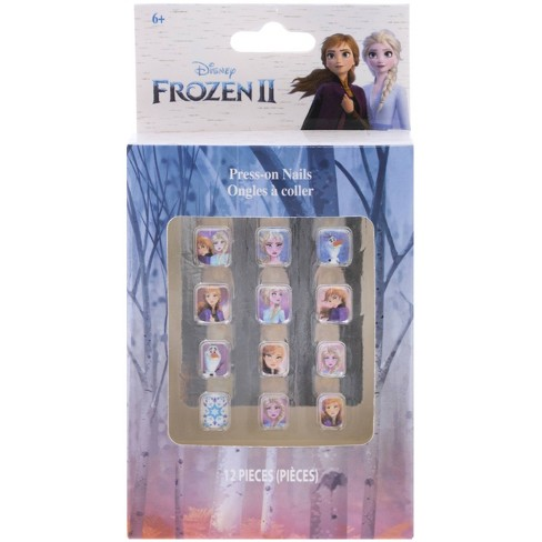 Disney Frozen Press On Nails 12pk - image 1 of 2