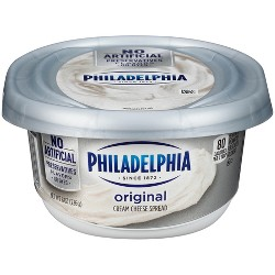 Philadelphia Regular Cream Cheese Tub - 8oz