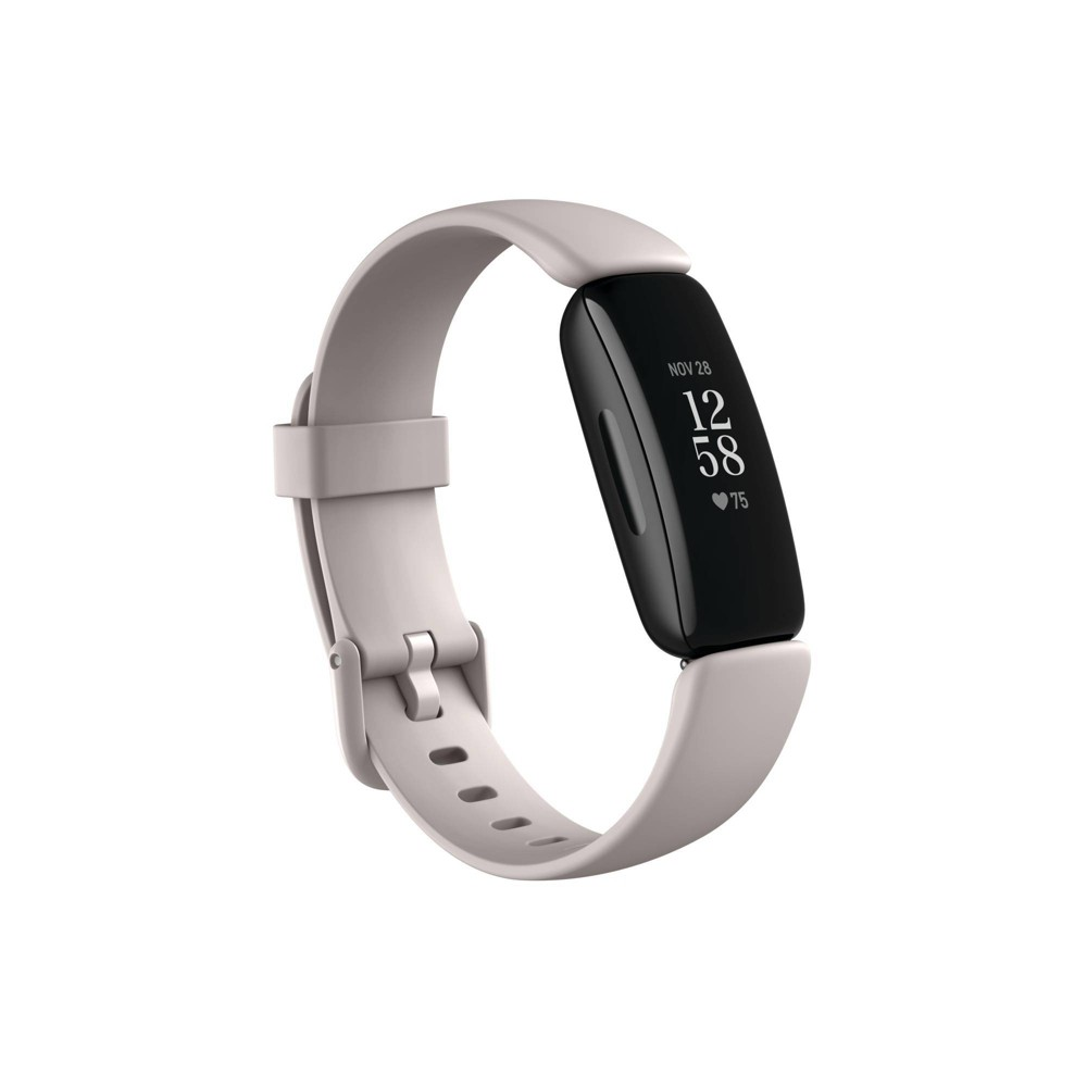 Fitbit Inspire 2 Activity Tracker Black With Lunar White Band