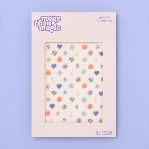 Gem Nail Sticker Set - More Than Magic™ - 60ct - image 1 of 2
