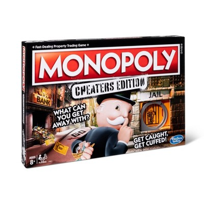 Monopoly Cheaters Edition Board Game
