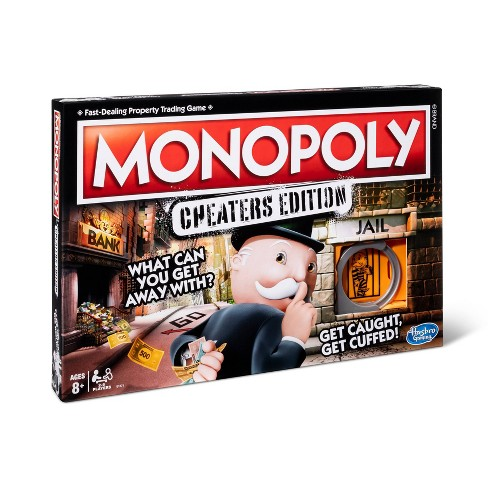 Monopoly Cheaters Edition Board Game - image 1 of 4