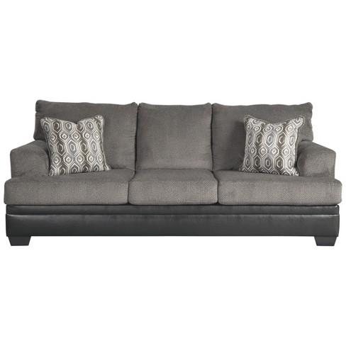 Peachy Millingar Queen Sofa Sleeper Smoke Gray Signature Design By Ashley Download Free Architecture Designs Terchretrmadebymaigaardcom