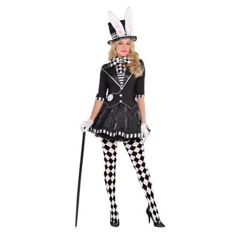 Women's Dark Mad Hatter Halloween Costume - image 1 of 1