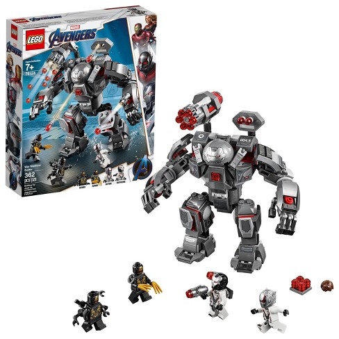 LEGO Marvel Avengers War Machine Buster 76124 - image 1 of 4