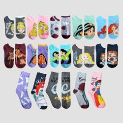 Women's Disney Princess 15 Days of Socks Advent Calendar - Assorted Colors One Size