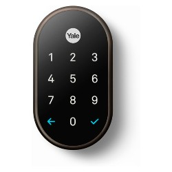 Google Nest x Yale Lock (Oil Rubbed Bronze) with Nest Connect