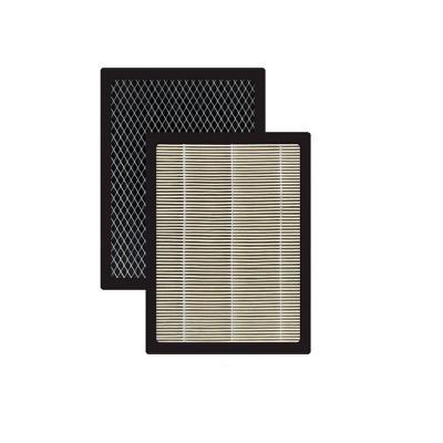 Cuisinart 2pk Combination HEPA High-Grade Active Carbon Filter Compatible Air Purifier CAP500-FPK