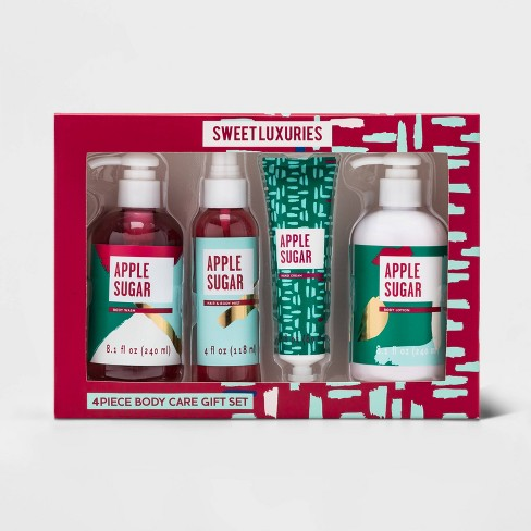 Apple Sugar Bath and Body Gift Set - 4pc - Target Beauty™ - image 1 of 2