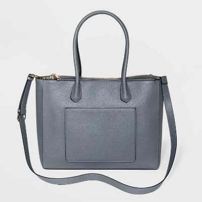 Triple Compartment Work Tote Handbag - A New Day™