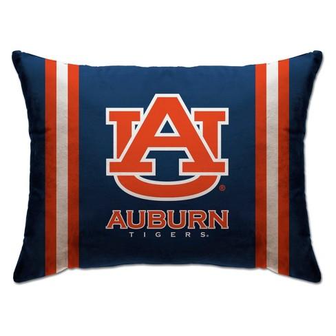"NCAA Auburn Tigers 20""x26"" Standard Logo Bed Pillow - image 1 of 1"