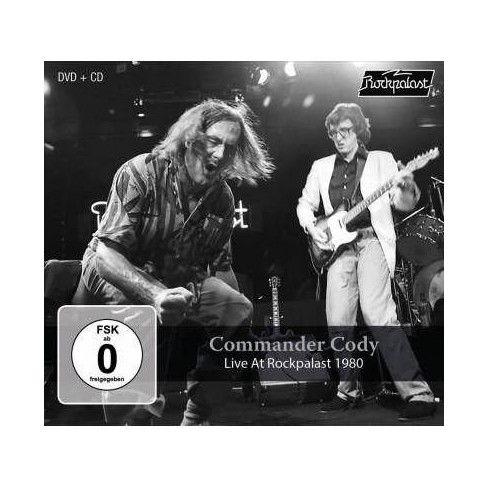 Commander Cody - Live At Rockpalast 1980 (CD) - image 1 of 1