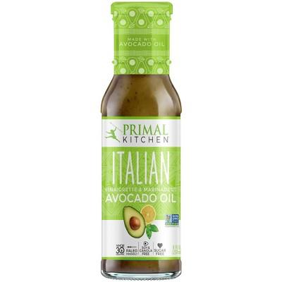 Salad Dressing & Toppings: Primal Kitchen Italian Vinaigrette