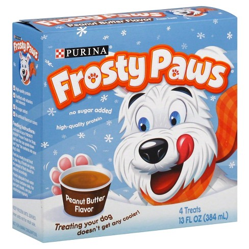 Frosty Paws Peanut Butter - 4pk - image 1 of 1